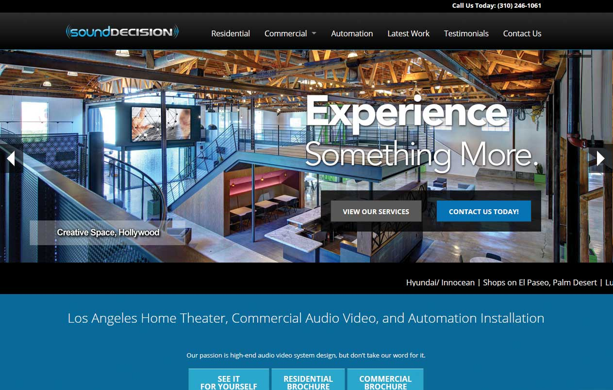 Audio Video Landing Page Creation